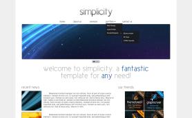 Simplicity Template Portfolio Full